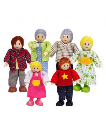 Famille type caucasien