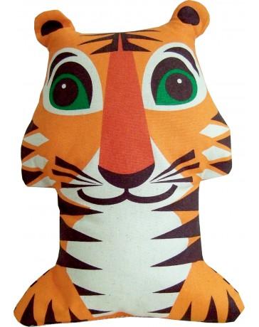 Serviette doudou - Tigre