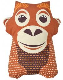 serviette doudou - Ourang-outang