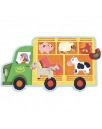 Encastrement animaux de la ferme