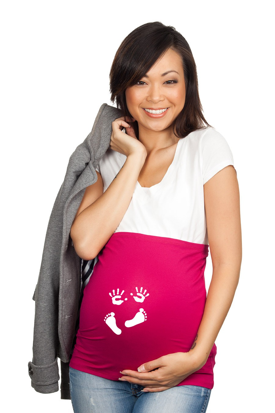 riche et magnifique choisir l'original artisanat exquis bandeau de grossesse - Mains et pieds - Ti'marmay Nature