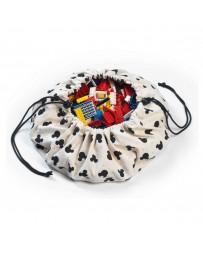 Mini tapis et  sac de rangement Mickey