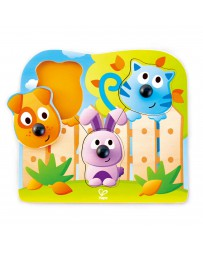 Puzzle bouton animaux