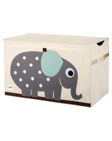 Coffre à jouet éléphant