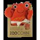 Serviette à capuche Bébé Charlie le Crabe